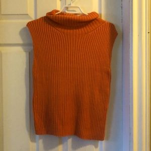 Sleeveless sweater!